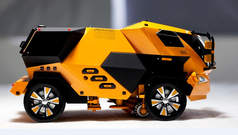 陈正吉 2019/6/10 星期一 13:14:46 Highway Inspection & Emergency Treatment Engineering Vehicle Concept Car Model Detail Display